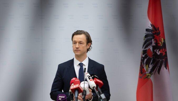 Austrijas finanšu ministra mājās aizdomās par korupciju veikta kratīšana