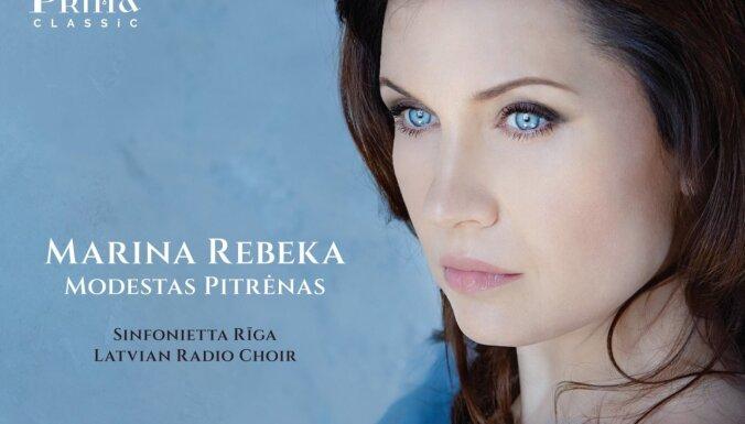 Izdots jauns Marinas Rebekas, 'Sinfonietta Rīga' un Latvijas Radio kora ieraksts