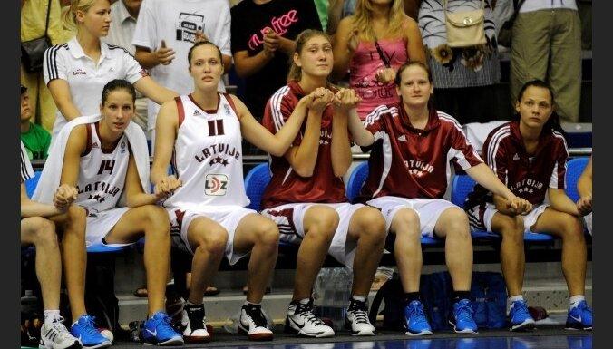 Latvijas U-20 sieviešu basketbola izlase EČ pusfinālā piekāpjas Spānijai