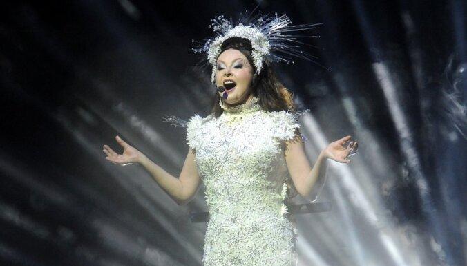 Foto: Braitmenas gaismu un skaņas šovs izpārdotajā Rīgas koncertā