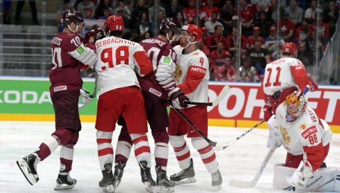 Latvijas hokejistiem pirms PČ ieplānotas spēles ar Franciju, Krieviju un Šveici