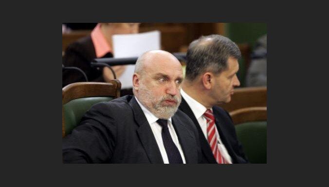 Godmanis: valdību plānots sašaurināt līdz 11 ministrijām, saglabājot esošo koalīciju