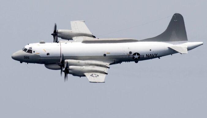 Video: Krievu 'Su-27' bīstami pietuvojas ASV novērošanas lidmašīnai