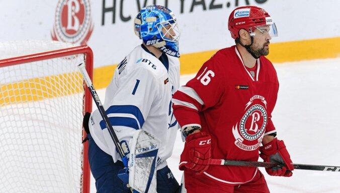 Daugaviņš ar gūtiem vārtiem uzstāda jaunu Latvijas hokejista rekordu KHL