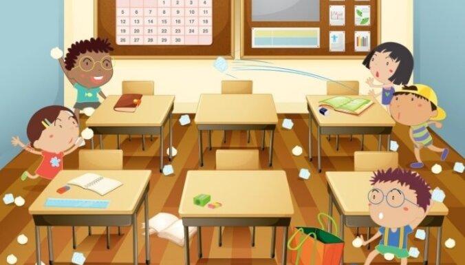 Bērnu uzvedības traucējumi un tiesības uz izglītību drošā vidē