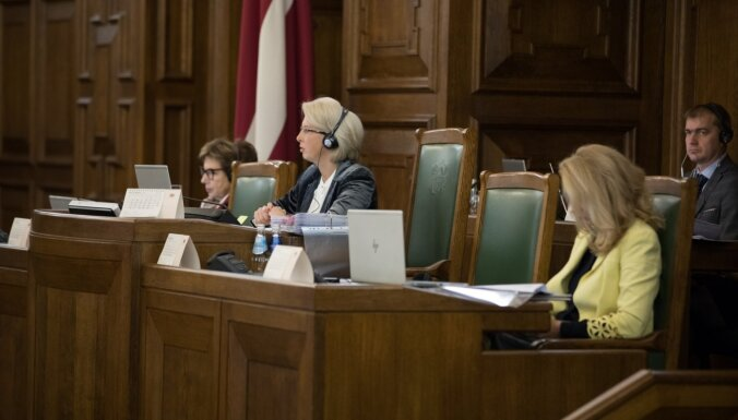 Saeima atbalsta Covid-19 dēļ karantīnā un izolācijā esošo uzraudzības sistēmas veidošanu