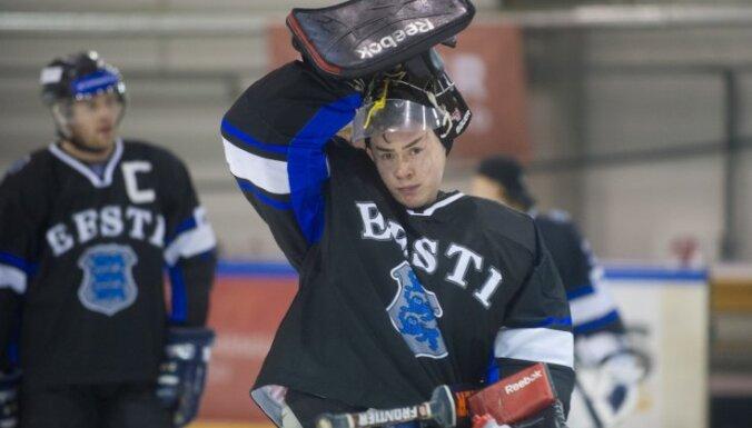 Video: igauņu hokejisti 'labi nosvin' izkrišanu uz otro divīziju