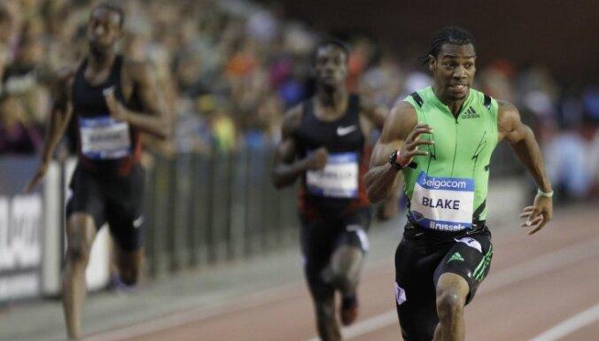 Блэйк промчался 100-метровку с третьим результатом в истории