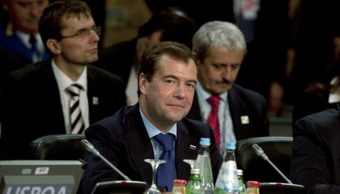 2011.gada Davosas forumu atklās Krievijas prezidents