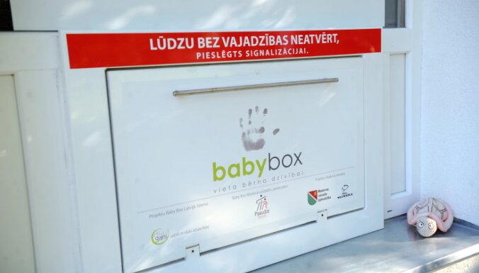 Jelgavas glābējsilītē atstāts pirmais bērniņš
