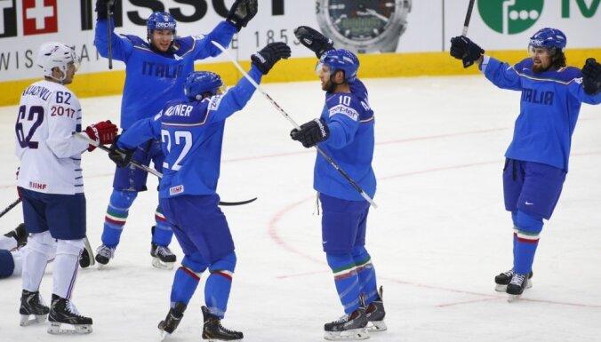 Сборная Италии сыграет на ЧМ-2017 в элитном дивизионе