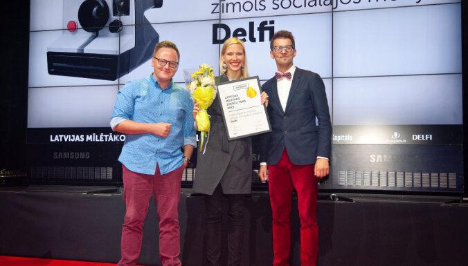 Sadalītas mīlētāko zīmolu godalgas: 'Delfi' - ietekmīgākais sociālajos medijos