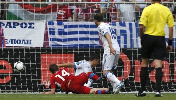 Чехи двумя ранними голами вошли в историю ЕВРО