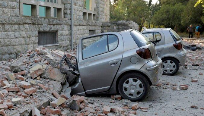 Zemestrīcē Albānijā cietuši vairāk nekā 100 cilvēki