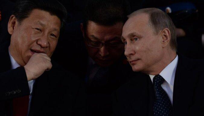 Profesors: Krievija Ķīnai nav līdzvērtīga partnere