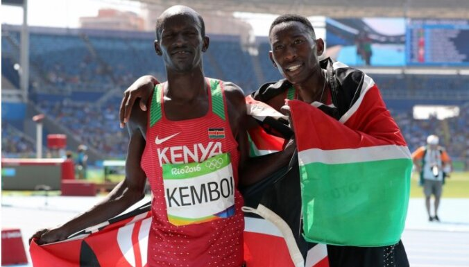 Kenijietim Ecekielam Kemboi atņemta Rio izcīnītā bronzas medaļa
