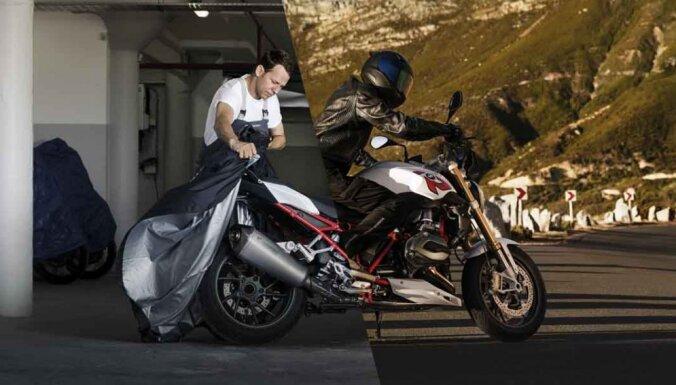 Kā pēc aktīvās sezonas pareizi ieziemot motociklu
