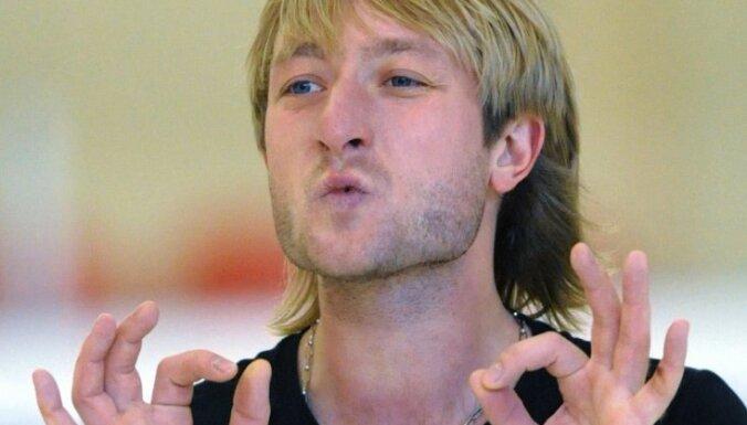 ВИДЕО: Плющенко показал тренировку сына со сломанной рукой