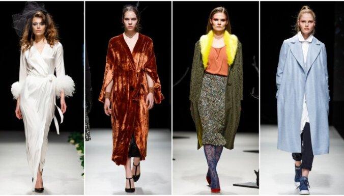 Rīgas modes nedēļas ceturtā diena: sievišķīgas mežģīnes un šarmantas inovācijas