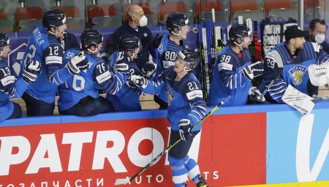 Somijai iekļūšanai pusfinālā pietiek ar vieniem vārtiem pret Čehiju