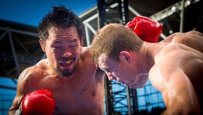 ФОТО, ВИДЕО: Пакьяо потерял титул чемпиона мира по версии WBO