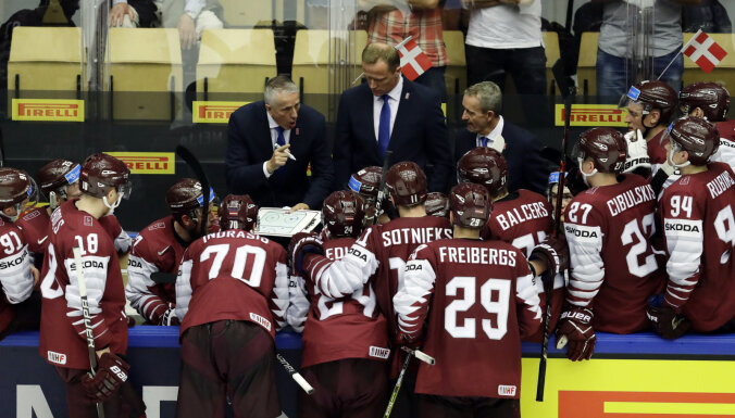Хартли: Латвия доказала, что может играть на уровне ведущих хоккейных держав
