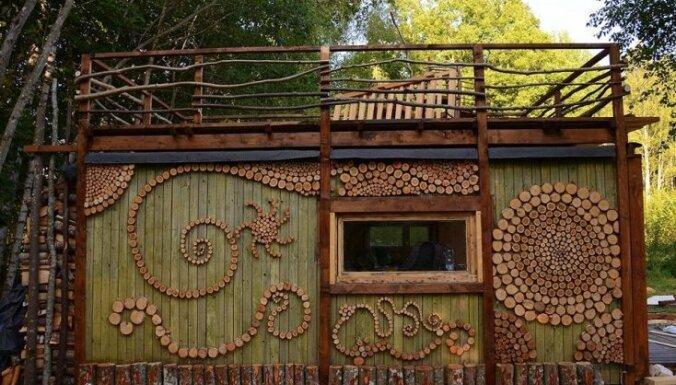 Fantastiskas un izdomas bagātas brīvdienu mājiņas tepat Latvijā, kur aizbēgt no ikdienas kņadas
