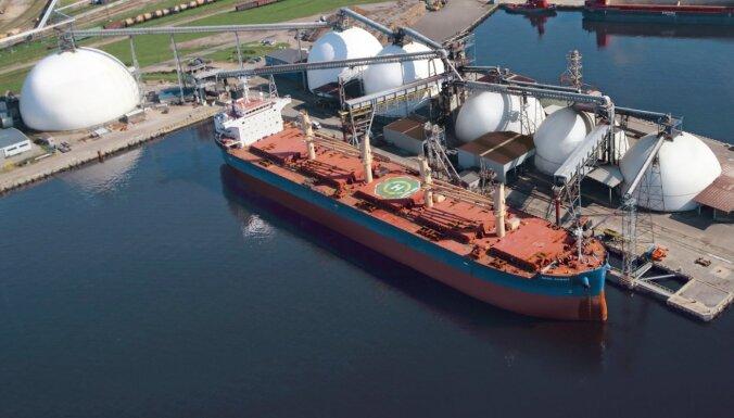 Рижский порт полностью готов к сезону перевалки зерна