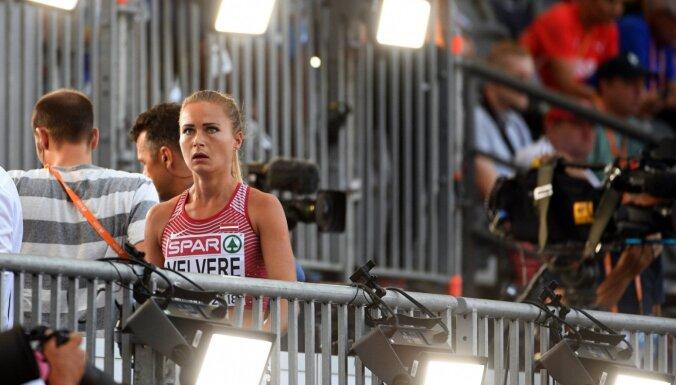 Velvere neiekļūst Eiropas čempionāta telpās 800 metru skrējiena pusfinālā