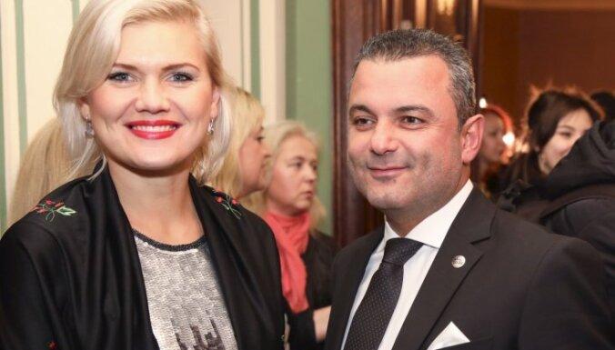Хосам Абу Мери сделал предложение телеведущей Линде Крумине