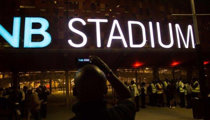Drūzmā Dienvidāfrikas futbola stadionā divi bojāgājušie