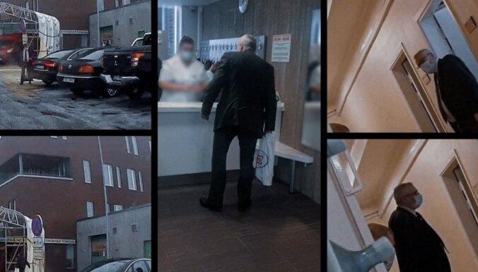 Igaunijā izmeklē Krievijas diplomāta vakcinēšanu pret Covid-19