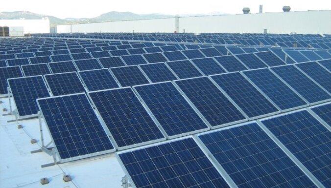 Latvenergo установило сотни солнечных панелей в странах Балтии