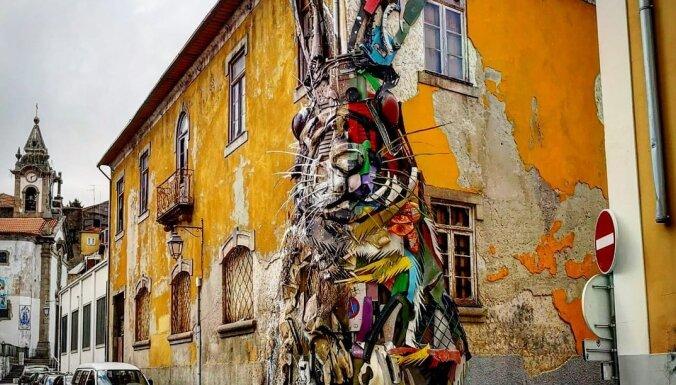Neparasts tūrisma objekts Portugālē: trusis, kas veidots no atkritumiem