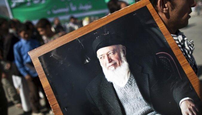 Par Afganistānas padomes sarunām ar talibiem priekšsēdētāju ievēlēts Rabani dēls