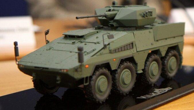 Lietuvā vācu 'Boxer' sauks par 'Vilkas' un aprīkos ar izraēliešu ieročiem