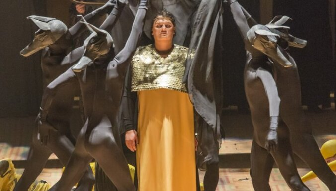 Izcilu zvaigžņu plejāde Latvijas Nacionālās operas izrādē 'Aīda'