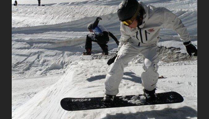 Через неделю в Латвии могут открыться первые лыжные трассы