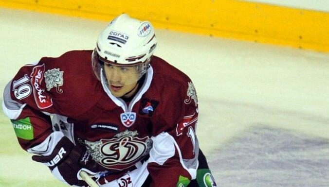 Микелис Редлих признан лучшим нападающим недели в КХЛ