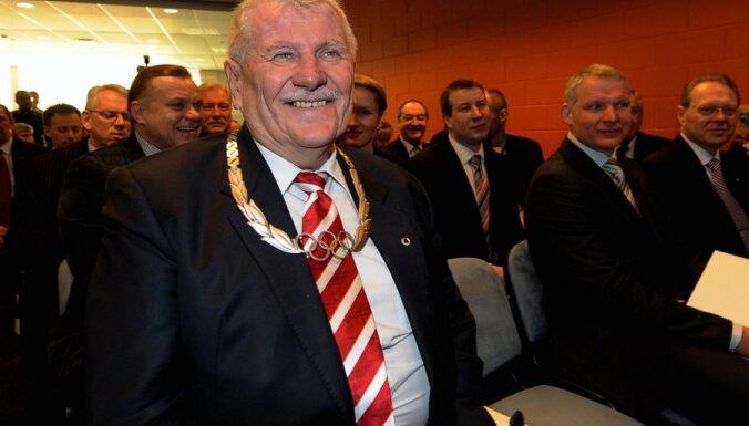 Vilnis Baltiņš saņēmis augstāko SOK apbalvojumu - Olimpisko ordeni
