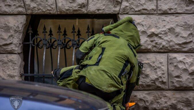 Полиция задержала мужчину, умышленно оставившего на дороге боевой снаряд