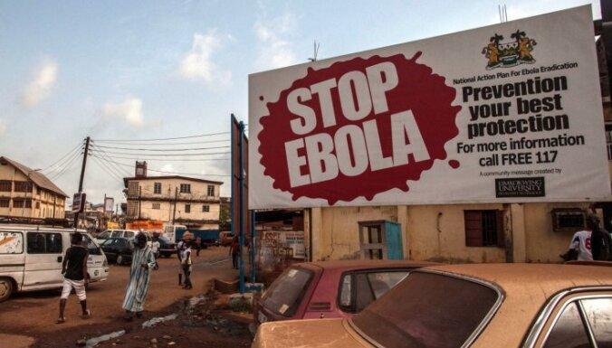 Sjerraleonē apstiprināts vēl viens saslimšanas gadījums ar Ebolas vīrusu