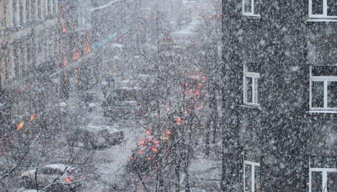 Оранжевое предупреждение: в понедельник ожидаются сильные снегопады