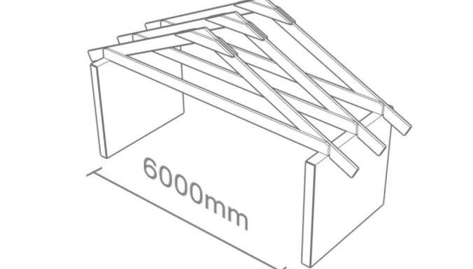 Koka kopnes pret jumta spārēm: kādas ir būtiskākās konstrukciju atšķirības
