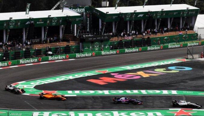 No F-1 kalendāra var tikt izslēgts Meksikas 'Grand Prix' posms