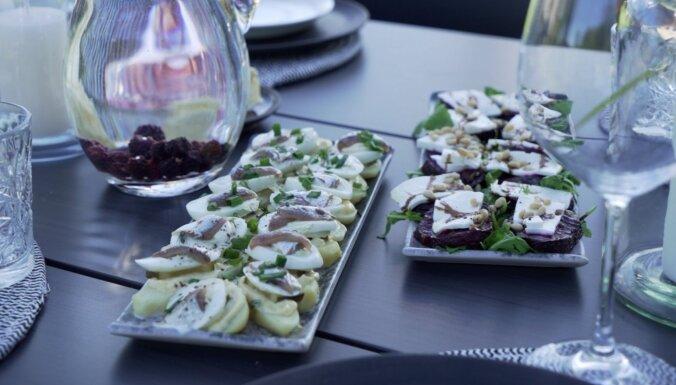 'Gandrīz ideālas vakariņas': pāvilostnieku salātu jaunā versija