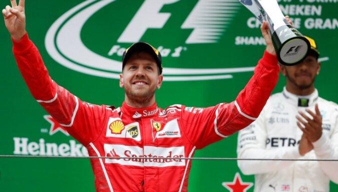 Феттель выиграл Гран-при Бахрейна и вновь возглавил общий зачет