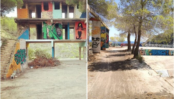 ФОТО. Без кроватей, душа и кондиционера: отель на Ибице, который так и не был построен