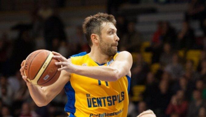 'Ventspils' uzvar 'VEF Rīga' sezonas pirmajā Latvijas grandu duelī