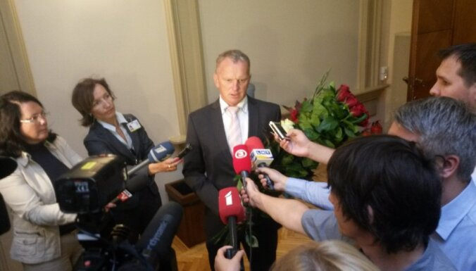 Saeima Gaidi Bērziņu apstiprina tieslietu ministra amatā